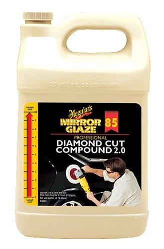 Meguiar's M8501 Mirror Glaze Diamond Cut Compound 2.0 - 1 Gallon by (Meguiars Diamond Cut Compound)