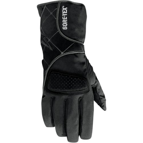 Alpinestars Stella WR-3 Gore-Tex Women's Waterproof Sports Bike Racing Motorcycle Gloves - Black / X-Small