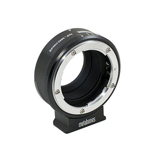 Metabones Nikon G Lens to Micro Four Thirds Lens Mount Adapter (Matte Black) by Metabones