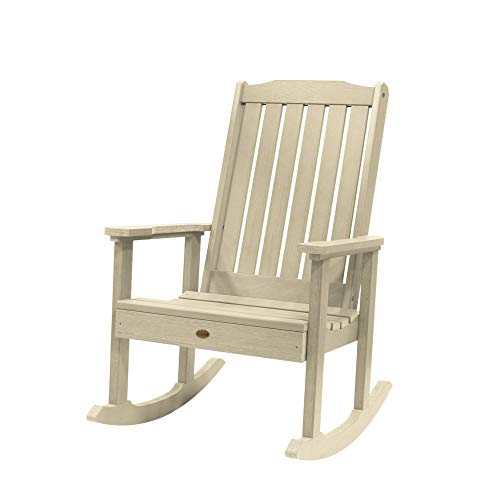 (Highwood AD-RKCH1-WAE Lehigh Rocking Chair, Whitewash)