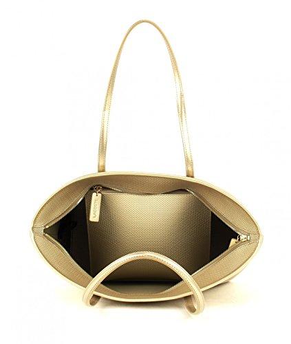 Rich Gold Bag Chantaco Shopping Medium Lacoste waq1BTS