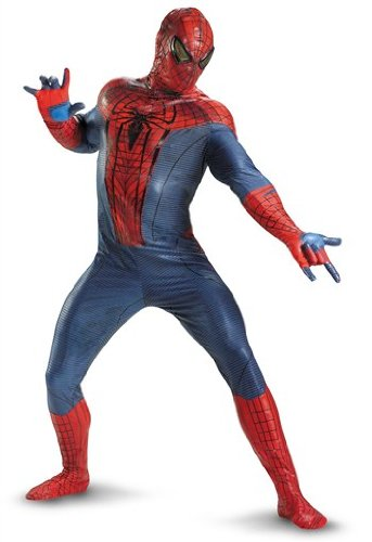 Disguise Marvel The Amazing Spider-Man Movie Adult Jumpsuit