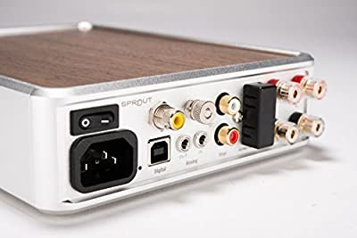 PS Audio Sprout Complete Home Audio DAC Amp - High End Audio from Vinyl, Digital, Bluetooth - Return the Soul to Your Music
