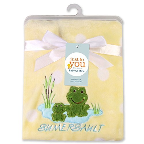 Trend Mark Baby Muslin Swaddle Wrap Frog Baby