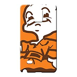 samsung note 4 Dirtshock Scratch-free stylish mobile phone cases cleveland browns nfl football