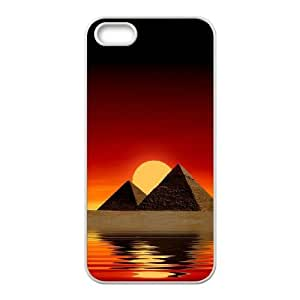 WEUKK Pyramid iPhone 5,5S,5G cover case, customized cover case for iPhone 5,5S,5G Pyramid, customized Pyramid cell phone case