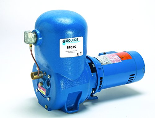 Goulds BF03S Shallow Well Jet Pump, 1/2 HP, 1 - Well Goulds Shallow Pump Jet