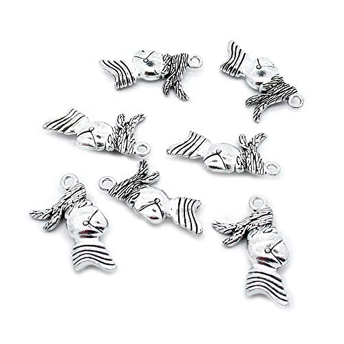 (70 pcs Antique Silver Plated Jewelry Charms Findings Craft Making Vintage Beading J3JK7S Knight Helmet)