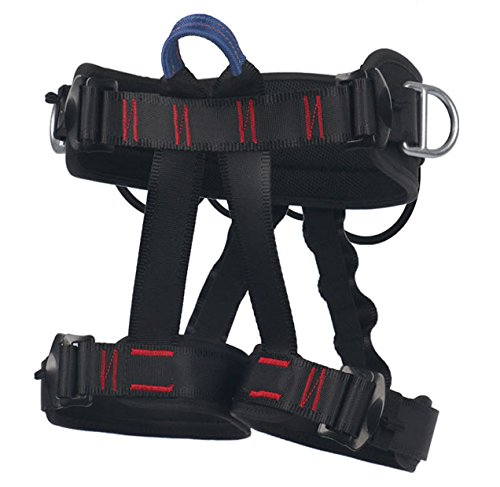 Climbing Harness – Ingenuity Professional Mountaineering Rock Climbing Harness,Rappelling Safety Harness – Work Safety Belt – DiZiSports Store