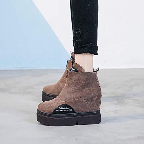 YAN Stivali Donna 2019 Nuovo High Top Scarpe Scarpe Scarpe
