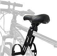 XIMIN® Kids Bike Seat for Mountain Bikes, Mountain Bike Saddles Child Front Mounted Bicycle Seats, Detachable