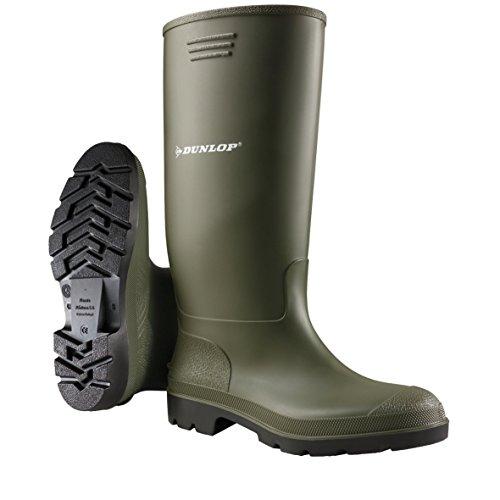 Dunlop Hommes Wellington Boot Pvc 10 Vert