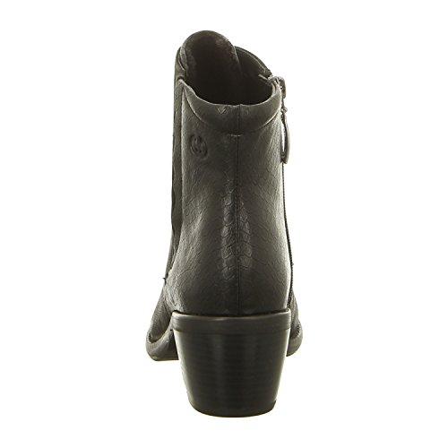 GERRY WEBER G15211-mi21100 - Botas de Piel Para Mujer Negro Negro Schwarz (Schwarz)