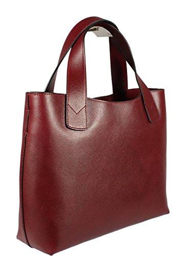 Neue Hand Tasche , Sac pour femme à porter à l'épaule rouge rot 0