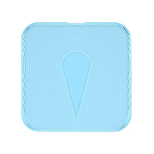 Price comparison product image Buybuybuy Wireless Charger,  Fast Wireless Charging Portable Pad for Apple iPhone X / 8 / 8 Plus,  Standard Charger for Samsung Galaxy Note8 / 5 S9 / S9 Plus / S8 / S8 Plus S7 / S6 Edge and Qi Enabled Devices (Blue)