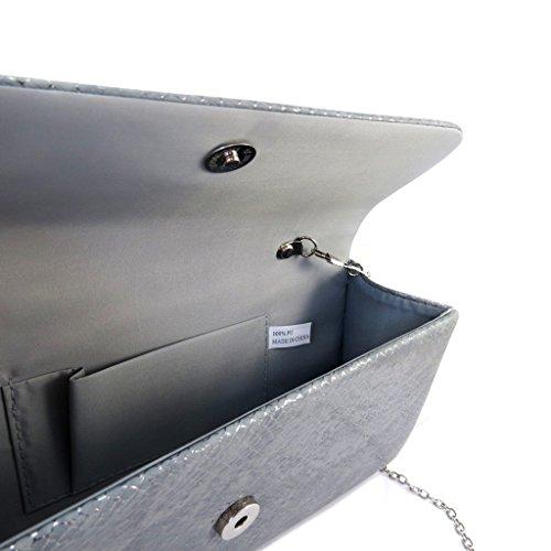Pouch Kikagrigio - 25.5x13x6 cm.