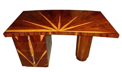 Deco Rosewood Desk Art - Art-Deco Desk superbly Brazilian Rosewood Brazilian Rosewood