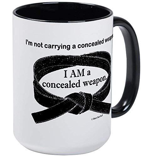 (Concealed Weapon Mug - 11oz RINGER Coffee Mug, Ceramic 11oz Coffee)