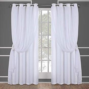 64 Inch Door Panel Curtains