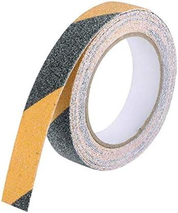 1 ST PVC Frosted Surface Antislip Tape Glow in Dark Grip Tractietape Schurende Trappen Loopvlak Stap Veiligheidstape 5cm5M 5cm3M zwart en geel