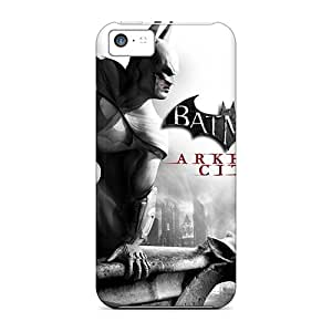 Hot New Batman Arkham City Case Cover For Iphone 5c With Perfect Design