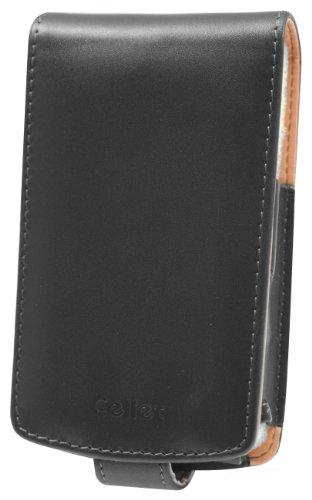 Cellet Executive Case with Sivel & Spring Belt Clip for Blackberry 8800, 8820 & 8830- Black