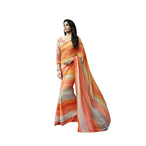 Georgette Embellished Satin Retails Women's Shaily Sarees Indian Export And ellena7006sssr01 Handicrfats AqwXax8x0