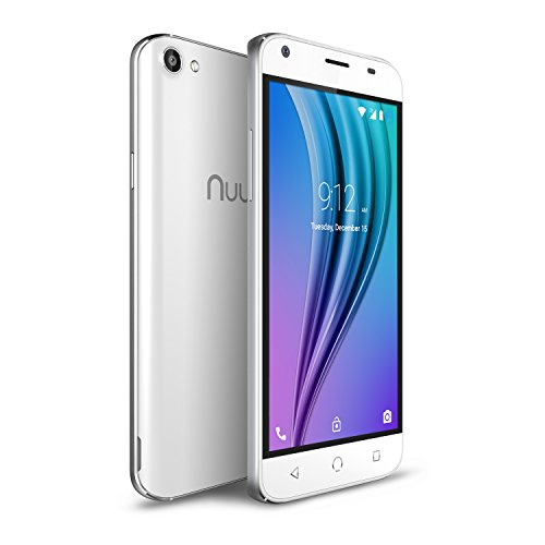 Nuu Mobile X4 US WHT X4 5.0' HD LTE White
