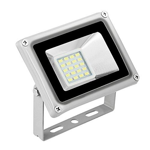 (Cold White, 20W : GERUITE 20W LED Floodlight 220V 5730 SMD 2200 LM Floodlights LED Flood Lamp for Signs Stadium Square Billboard Parking)