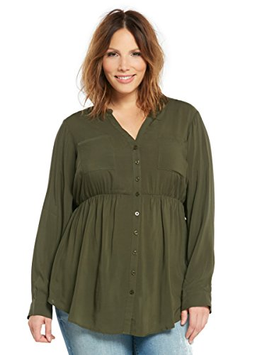 Challis Button Front Tunic