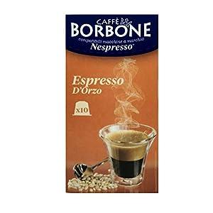 10 Capsule Caffè Borbone espresso orzo compatibili Nespresso ®