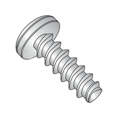#10 x 1/2'' Plastite Style Thread Forming Screws/Phillips/Pan Head/18-8 Stainless Steel (Carton: 3,000 pcs)