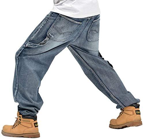 Denim Style Hombre Pantalones Jeans Hipster Trabajo Baggy Chino A059 Hop Harem Anaisy Rap Hip De Joven Cargo Pants dZqyXwXH