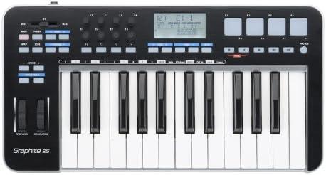 Samson Technologies SAKGRM25 Mini USB MIDI Controller