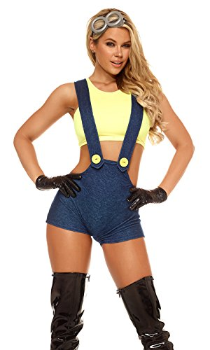 [Forplay Women's Desirable Me, Yellow, Small/Medium] (Forplay Costumes 2016)