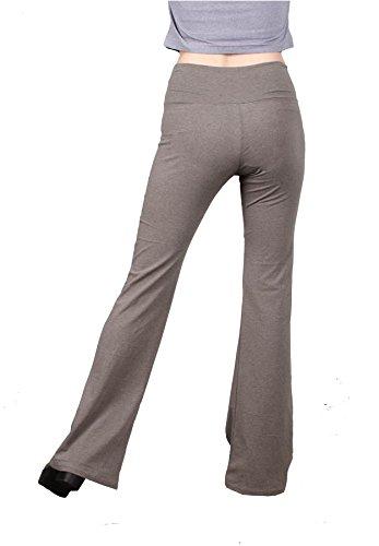 Jeggings Yoga Stone Fitnes Lofbaz da Donna Flared River Pantaloni Leggings Pantaloni Flared T0IZf