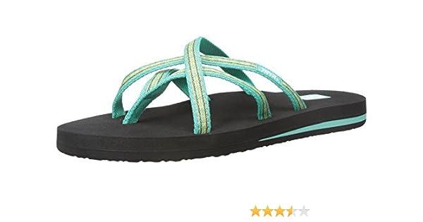 new style 81ffd 762d8 Teva Women's Olowahu Flip-Flop (10 B(M) US / 41 EUR, Pintado Florida Keys)