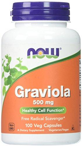 NOW Graviola 100 Veg Capsules