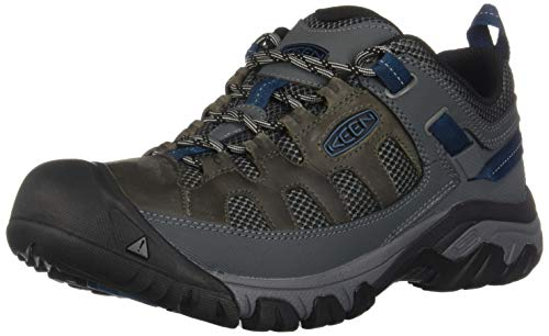 KEEN Men's Targhee Vent Basalt/Legion Blue 10 D US