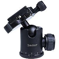 Sinvitron QZSD-06 Aluminum Camera Tripod Ball Head Ballhead+Quick Release Plate Pro Camera Tripod Max Load to 15kg Q-06