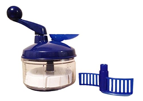 (Tupperware Quick Chef Food Processor, Mixer and Chopper- Blue QuickChef Tupperware)