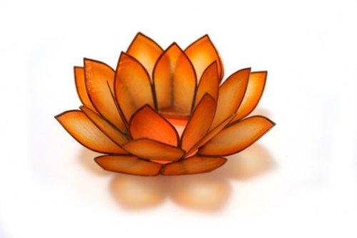 Lotus Tea Light- Mango (Lotus Flower Candle)