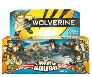 Claws Bone Wolverine (Wolverine Superhero Squad Battle Pack - Wolverine Evolution)