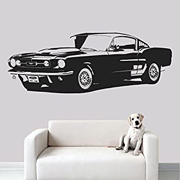 Wall Decal Vinyl Sticker Decals Art Decor Design Car Retro Old Collection Automobile Vintage Moto Boys  sc 1 st  Amazon.com & Amazon.com: Wall Decal Vinyl Sticker Decals Art Decor Design Car ... markmcfarlin.com