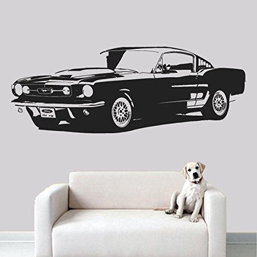 CreativeWallDecals Wall Decal Vinyl Sticker Decals Art Decor Design Car Retro Old Collection Automobile Vintage Moto Boys Mans Living Room Nursery Gift (r549) -