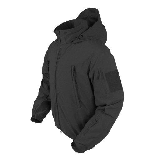 (Condor Summit Zero Men's Lightweight Soft Shell Jacket, Black, XXXL 609-002-XXXL)
