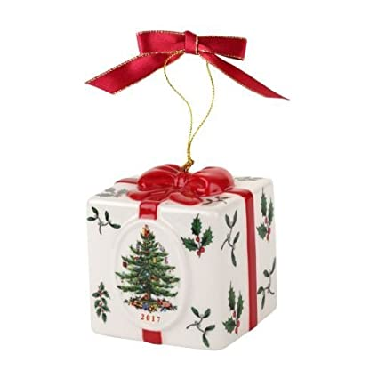 Spode Christmas Tree Ornament, Annual 2017 Holiday Box - Amazon.com: Spode Christmas Tree Ornament, Annual 2017 Holiday Box