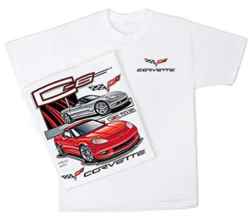 Chevy Corvette C 6 2005-2013 Men's T Shirt (Large)