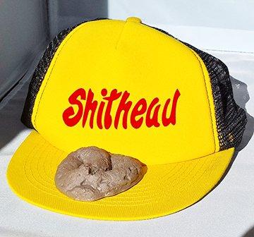 Fake Poop on a Hat