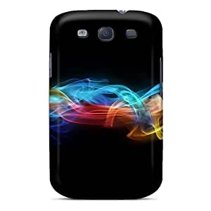 Perfect Fit Aja15954iDcq Colorful Smoke 01 Cases For Galaxy - S3